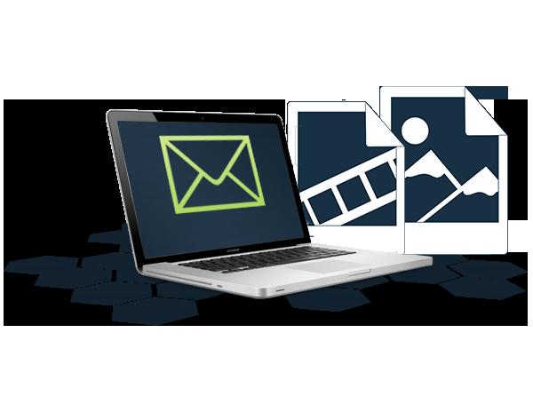 Große Dateien als E-mail versenden