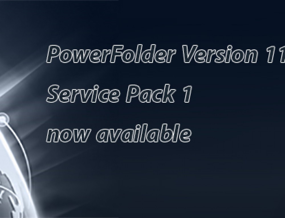 PowerFolder Version 11 Service Pack 1 now available