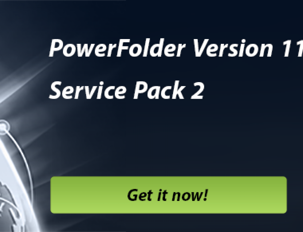PowerFolder 11 Service Pack 2 is available now