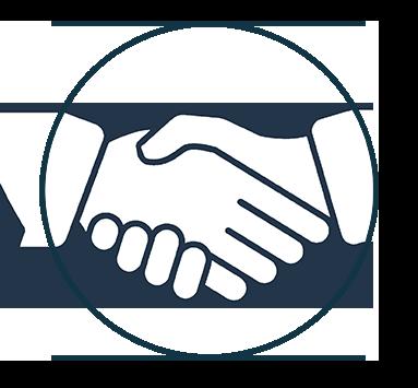 Synchronisation und share für Unternehmen als Partner